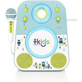 Amazon.com: Singing Machine Kids SMK250BG Mood LED Glowing