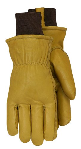- Midwest Gloves and Gear 609TLKW-XL-AZ-6 Cowhide Leather Work Glove with Thermolite Lining, X- Large