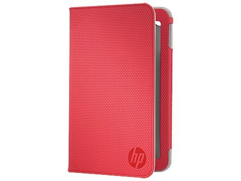 HP Slate 7 Red Folio Case(E3F48AA) For HP Slate 7 2800 Tablet (E0H92AA),HP Slate 7 2800s Tablet (E7C39AA),HP Slate 7 2801 Tablet (E0P94AA),HP Slate 7 2801s Tablet (E7C40AA).
