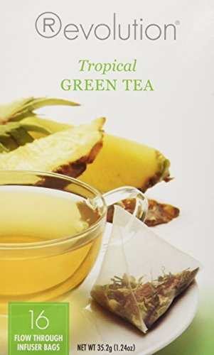 Revolution Tea Tropical Green Tea -- 16 Tea Bags