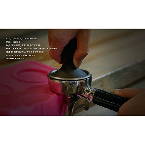 MagiDeal 2 Colors 58mm Coffee Tamper For Italian Espresso Machine Coffee Bean Press