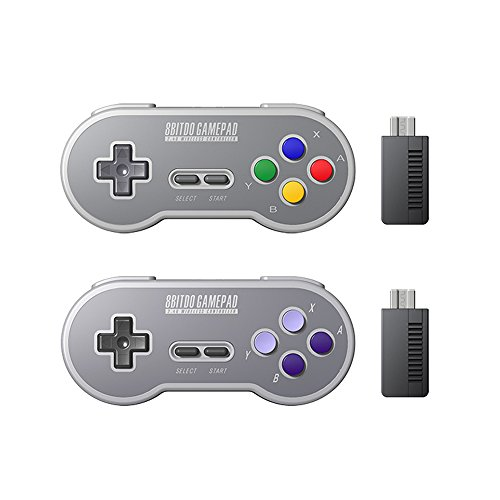 HIOTECH Wireless Controller 2.4GHz Wireless 8Bitdo SN30 Classic Video Game Joystick Gamepad for Super NES / SFC / SNES Classic Edition (Color)) by HIOTECH (Image #5)