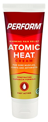 Perform Atomic Heat, Warming Pain Relief Cream for Muscle Soreness, Joint Pain Relief & Arthritis Pain Relief, Warming Topical Analgesic, Soothes & Heals Sore Muscles, Non-NSAID, 4 oz. Tube