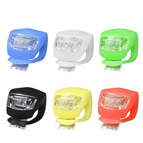 CAIM-Faros Delanteros Luces de conducción Nocturna Luces de Rana de conducción Scooters para niños LED de Advertencia de...