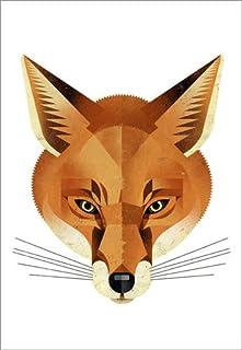 Poster 50 x 70 cm: Fox di Dieter Braun - Stampa Artistica Professionale, Nuovo Poster Artistico