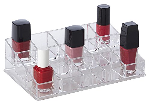 Richards Homewares Clearly Compartment Organizer