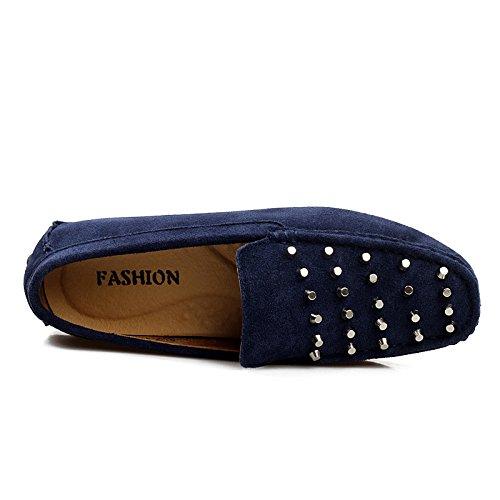 on Studden Sneakers Slipper Slip CFP 8 Navy UK Flanell in Casual 8327 Herren mit Größe wqSIFtFxA