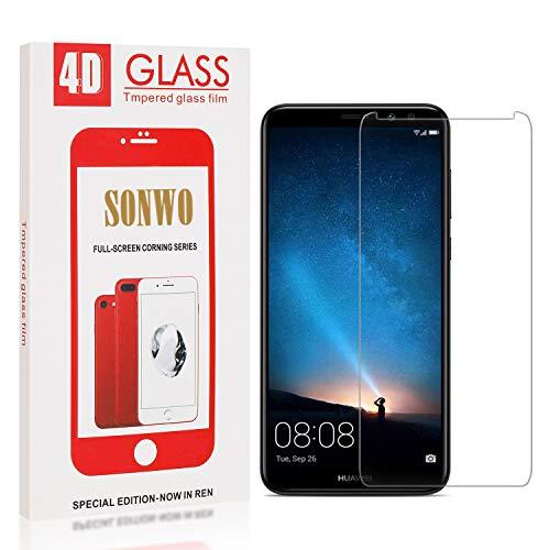 SONWO Panzerglas Schutzfolie für Mate 10 Lite, 1 Stück Anti-Kratzen Displayschutzfolie für Huawei Mate 10 Lite, 9H Härte, Anti-Kratzen