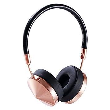 HHLUW Auriculares con Banda de Sujeción Bluetooth Auriculares inalámbricos con Auriculares de Bluetooth - Rosa Negro