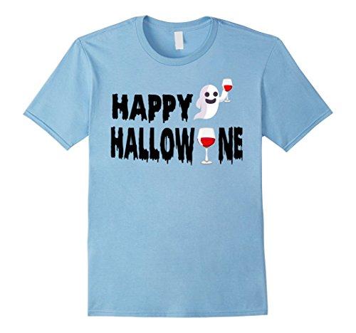 Mens Happy Hallowine T-Shirt Halloween Wine Lovers Trick or Treat 2XL Baby (Homemade Halloween Treats For Babies)