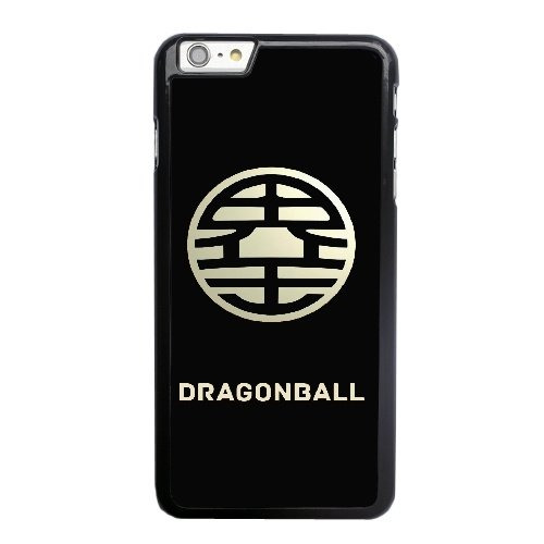 Coque,Apple Coque iphone 6 6S (4.7 pouce) Case Coque, Dragon Ball Z King Kai Symbol Phone Case Cover for Apple Coque iphone 6 6S (4.7 pouce) Noir Plastic Ultra Slim Cover Case Cover