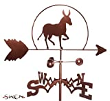 Hand Made DONKEY MULE BURRO SIDE Mount Weathervane ~NEW~ by SWEN Products