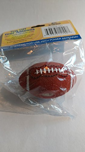 FOOTBALL ANTENNA TOPPER - 2.5 X 1.5 - Spot your car from afar. STEM