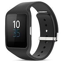 Sony SmartWatch 3 SWR50 (Black) Silicone Strap SmartWatch androidwear - International Version (No Warranty)