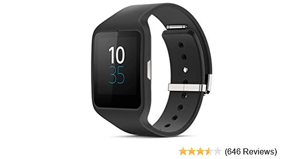 Amazon.com: Sony SWR50 SmartWatch 3 Transflective Display Watch [Black]: Cell Phones & Accessories