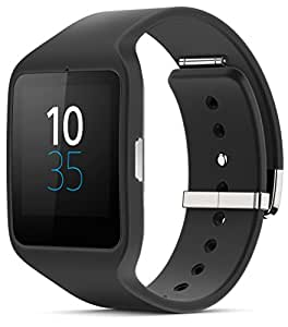 Sony SWR50 1.6-Inch Transflective Display SmartWatch 3 for Android wear Android 4.3 and onwards - Black