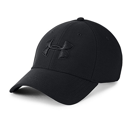 Under Armour mens Blitzing 3.0 Cap, Black (002)/Black, X-Large/XX-Large