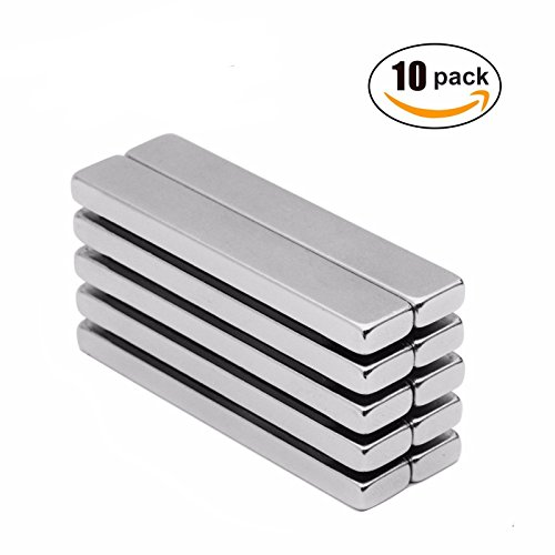 r Fridge 60 x 10 x 3mm Magnet Strong Rare Earth Neodymium US (Wrench Shape Magnet)