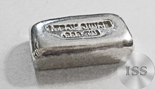 Fine .999 (Tin) Each Bar Weighs 1 Troy Ounce, 1toz Ingot, Superb Addition To Your Metal Collection, Collectable Unique Hand Poured Hand Stamped with Weight & Purity (Pure Tin) (Purity Collection)