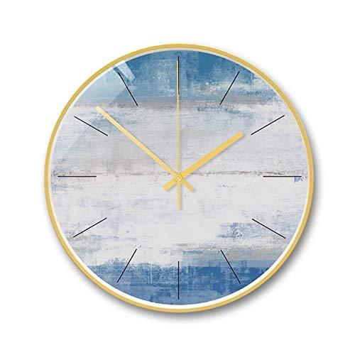 CooZoo Home 現代のファッション創造的な壁時計装飾的な壁時計リビングルームの寝室のサイレント壁時計   B07R63TK1N