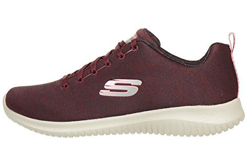 Femme Formateurs First Skechers Ultra Choice Bordeaux Flex Zq4xvwg