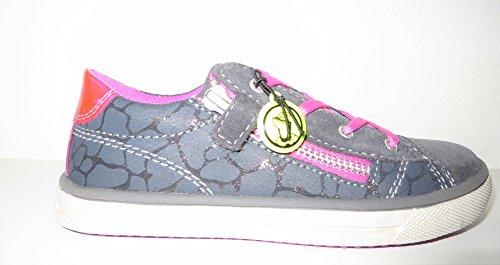 Lurchi Kinderschuhe Sneaker Halbschuhe Mädchen Grau