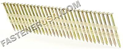 "2"" x .113 Smooth Galvanized Strip Nails 21 Degree 2.5M JobPak from FastenerUSA"