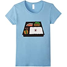 Bento Box Japanese Food t-shirt Rice Fish Meat Vegetables