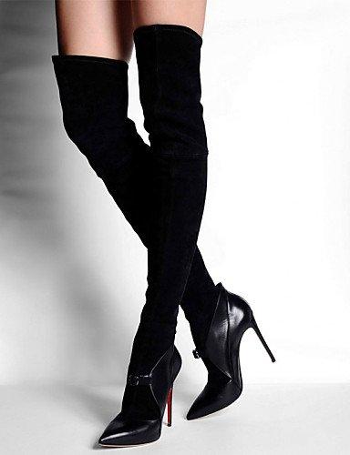Black cn44 fiesta Stiletto Xzz cn44 A De zapatos Black Trabajo Y uk9 us7 Botas us11 Negro uk9 vestido Tacón Mujer eu43 Noche La Moda Uk5 Cn38 5 5 Vellón eu43 Black Oficina Oklop Eu38 us11 gXqnpBw6xq