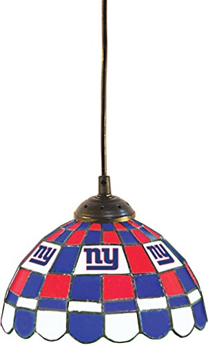 New York Giants Logo Pendant (Imperial Officially Licensed NFL Merchandise: Tiffany-Style Stained Glass 8