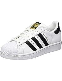 adidas Originals Superstar J Casual Low-Cut Basketball Sneaker (Big