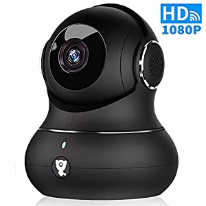 Wireless Indoor Home Security Camera – 1080P Littlelf IP Pet Camera WiFi Surveillance Baby Monitor with 2-Way Audio, 3D, Cloud Service, Remote Detect for iOS/Android, Night Vision