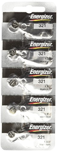 5 321 Energizer Watch Batteries SR616SW Battery Cell (5 Batteries Per ()