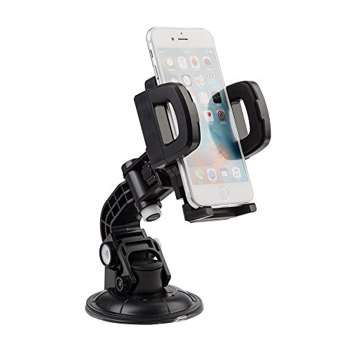 UNIVERSAL CAR MOUNT HOLDER FOR CELLPHONE/MP3/GPS WITH QUICK LOCK & RELEASE for Samsung Galaxy J3 Emerge/J3 Prime/J3 Eclipse/Express Prime 2/Luna Pro/Amp Prime 2/Sol 2