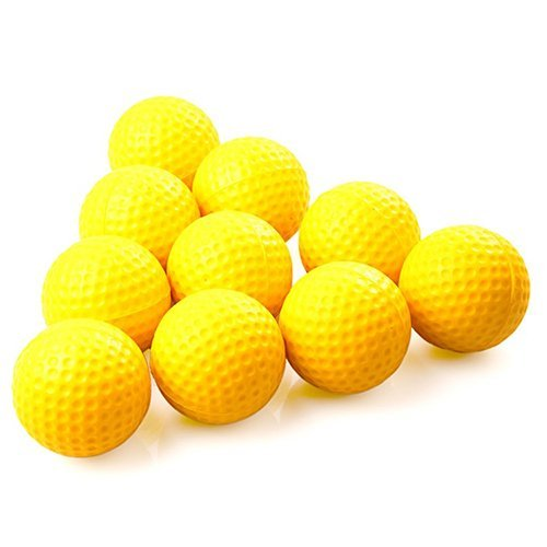 alibb 12-Pack Golf Practice Foam Balls Yellow price