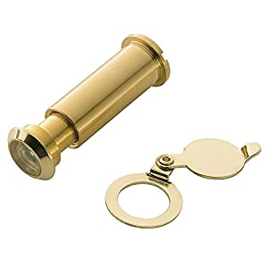 "Baldwin Estate 0155.030 Observascope in Polished Brass, .5"" Diameter"