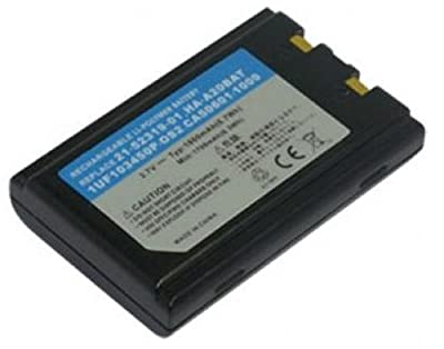 PowerSmart 3.70V 1800mAh Barcode Scanner Battery for Casio DT-X5, DT-X5M10E, DT-X5M10R, DT-X5M30E, DT-X5M30R, DT-X5M30U, Compatible Part Numbers: HA-A20BAT