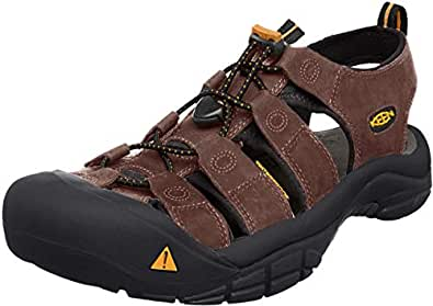 KEEN Australia Men's Newport Trekking Sandal, Bison, 7 US