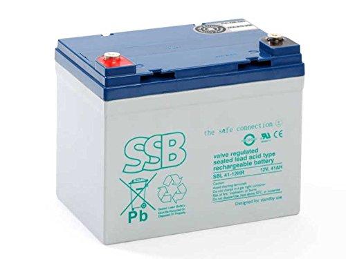 Akku kompatibel Aufsitzmäher Elektrorasenmäher 12V 41Ah AGM Blei wie 33Ah 36Ah