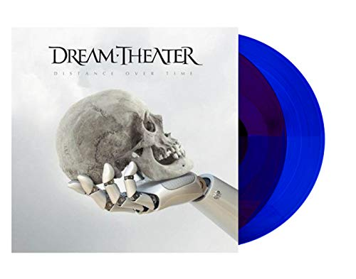 Dream Theater - Distance Over Time [Exclusive Limited Edition Transparent Blue 2X LP Vinyl]