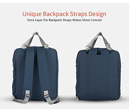 doxungo bebé pañal Mochila bebé bolsa de pañales mochila viaje backpacka mamá del bolso bolsa de gran capacidad beige beige cyan-blue