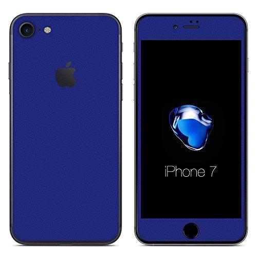 誘惑する書士指導する[全31色] wraplus for iPhone7 [ブルー] スキンシール (前面/背面)