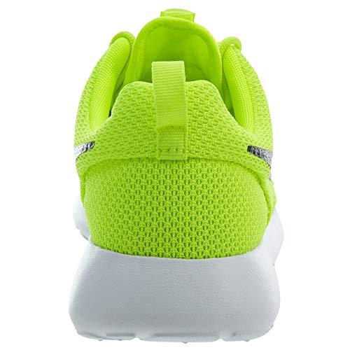 BlackWhiteWhitevolt Nike RosherunBaskets Basses Homme black white qzMVpSU