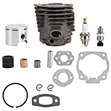46 mm Cylinder Piston w/Gasket Kit for Rancher Nikasil Engine Replacement Parts