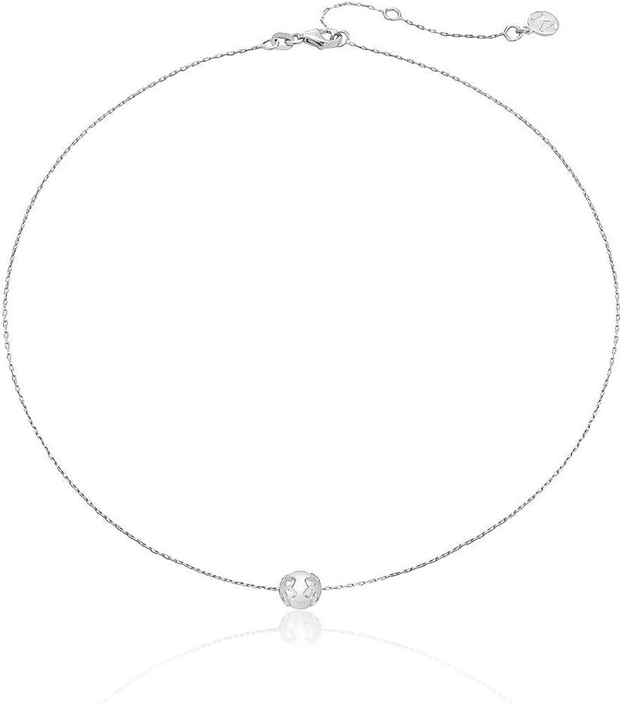 Majorica Collar Giselle 16341.01.2.000.010.1 - Plata rodiada, con Perla Blanca Central