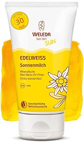Weleda Edelweiss sol Leche SPF 30, 150 ml: Amazon.es: Salud y cuidado personal
