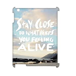 Customized Durable Case for Ipad 2,3,4 3D, Stay Close Phone Case - HL-R682507