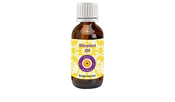 Puro aceite de Brahmi (Bacopa Monnieri), de dève herbes, 100 % natural, de grado terapéutico, 5 a 1250 ml: Amazon.es: Belleza
