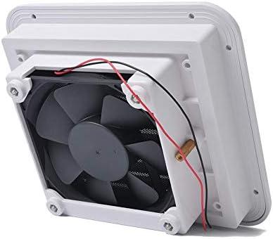 Everpert Ventilación lateral 12V Ventilación de refrigerador con ...