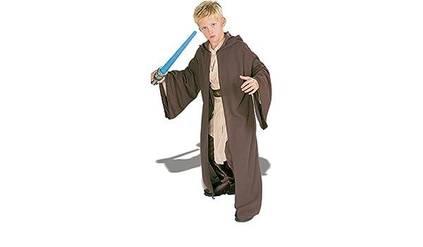 Generique Disfraz de jedi de Star Wars de lujo para niño 3 a ...